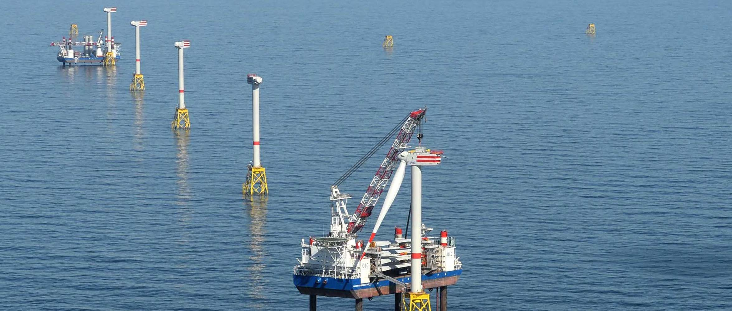 RWE- Offshore - Windpark Nordsee- Ost